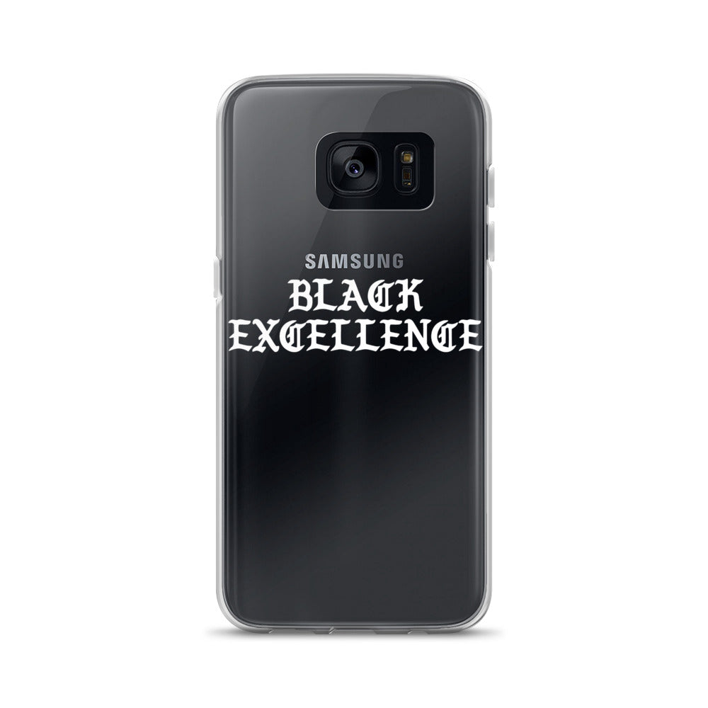 """Black Excellence"" Samsung Case"