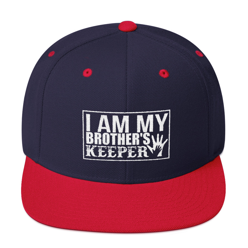 """I Am My Brother's Keeper"" Snapback Hat"