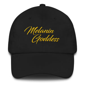 """Melanin Goddess"" Dad hat"