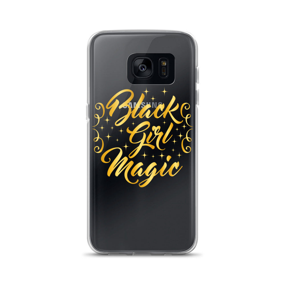 """Black Girl Magic"" Samsung Case"