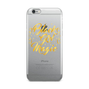 """Black Girl Magic"" iPhone Case"