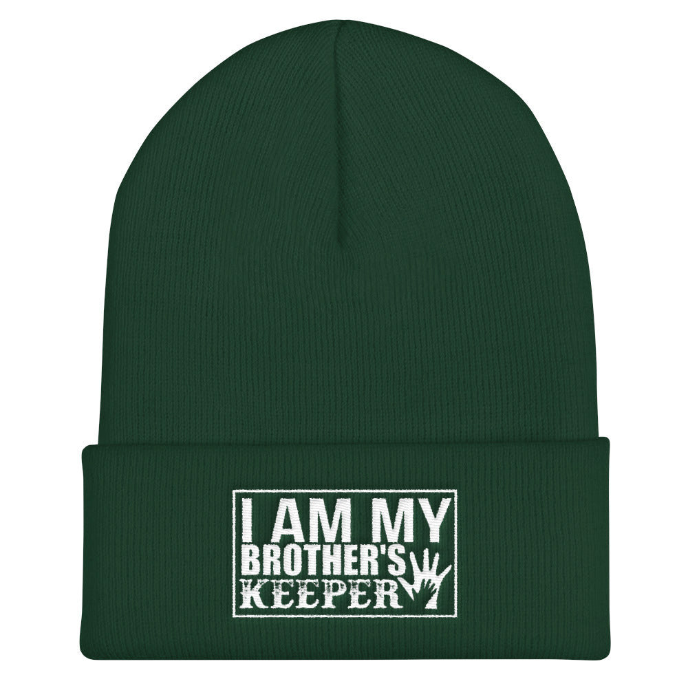 """I Am My Brother's Keeper"" Cuffed Beanie"
