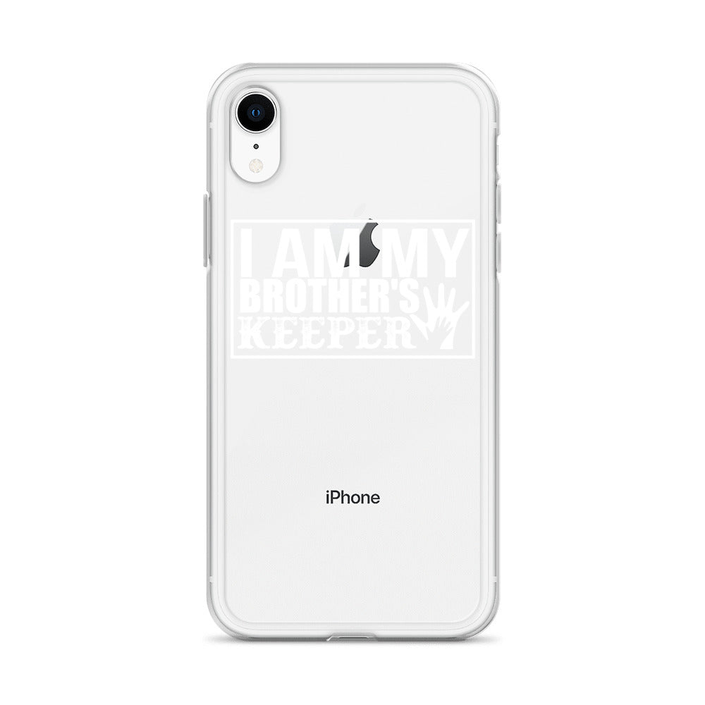 """I Am My Brother's Keeper"" iPhone Case"