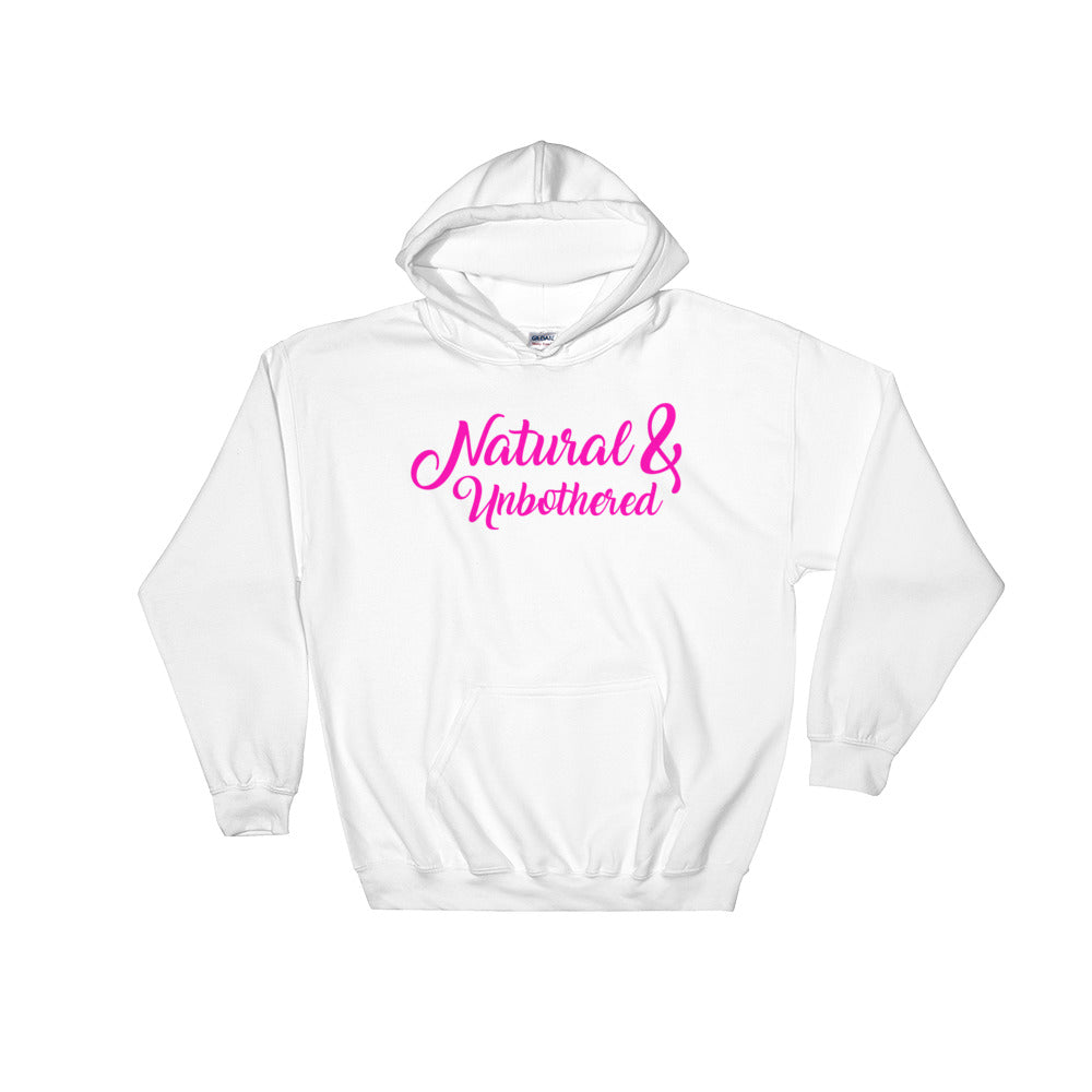 """Natural & Unbothered"" Hooded Sweatshirt"