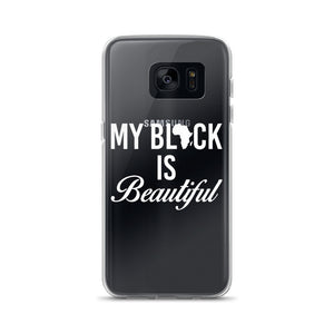 """My Black Is Beautiful"" Samsung Case"