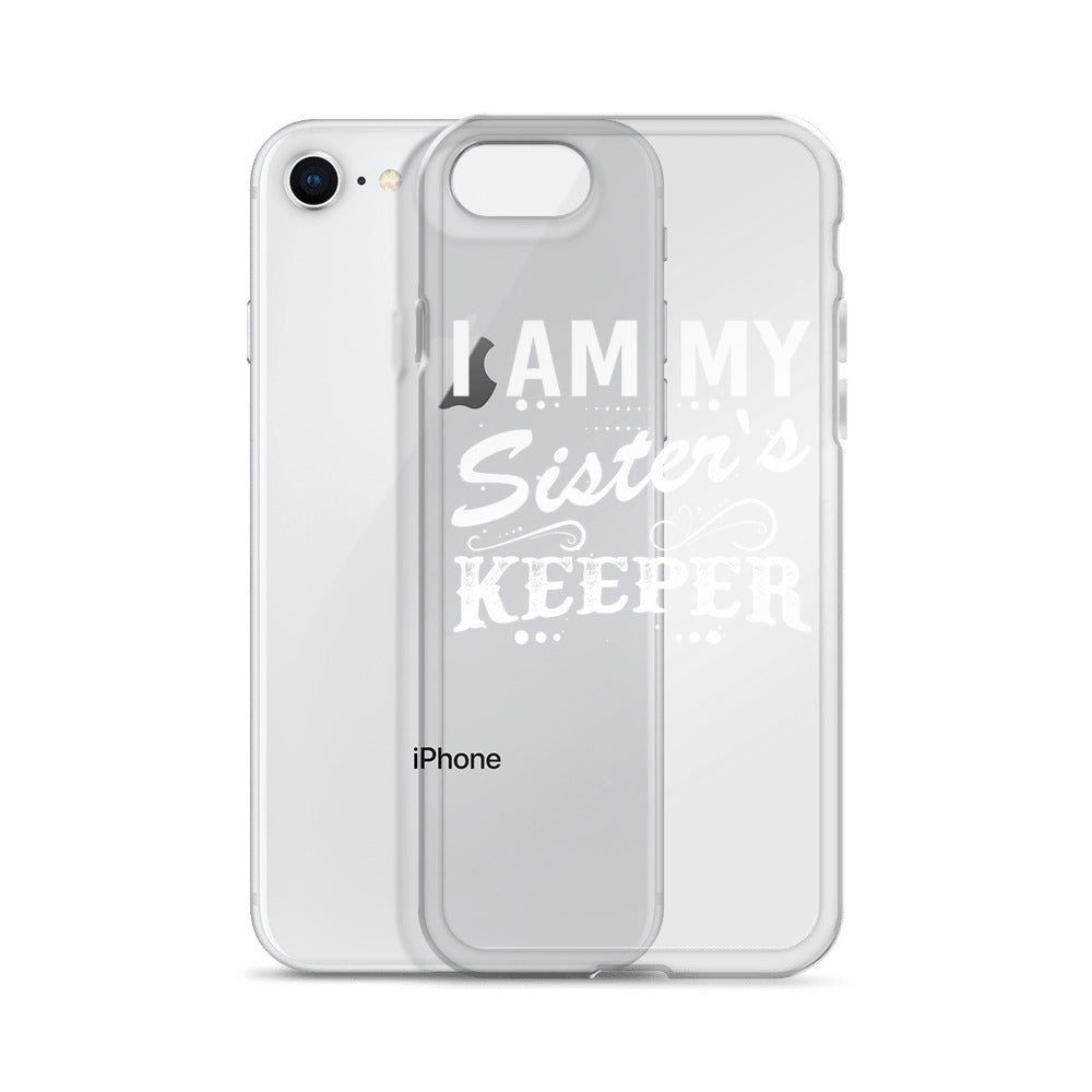 """I Am My Sister's Keeper"" iPhone Case"