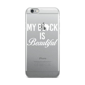 """My Black Is Beautiful"" iPhone Case"