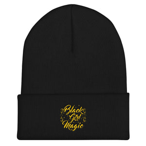 """Black Girl Magic"" Cuffed Beanie"