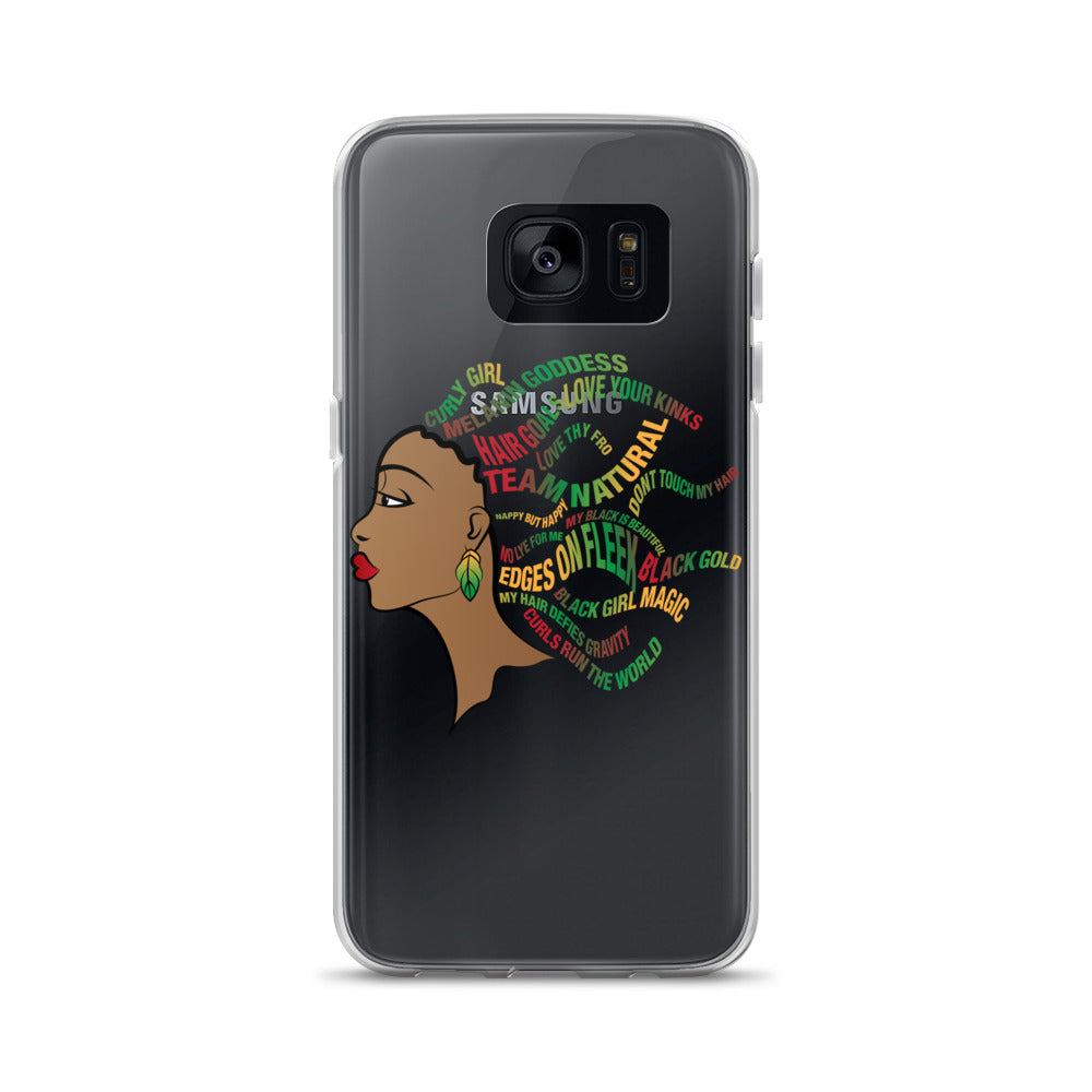 """Team Natural"" Samsung Case"