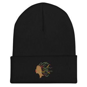 """Team Natural"" Cuffed Beanie"