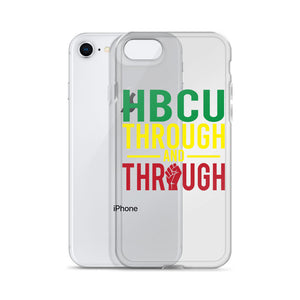 """HBCU Through And Through"" iPhone Case"