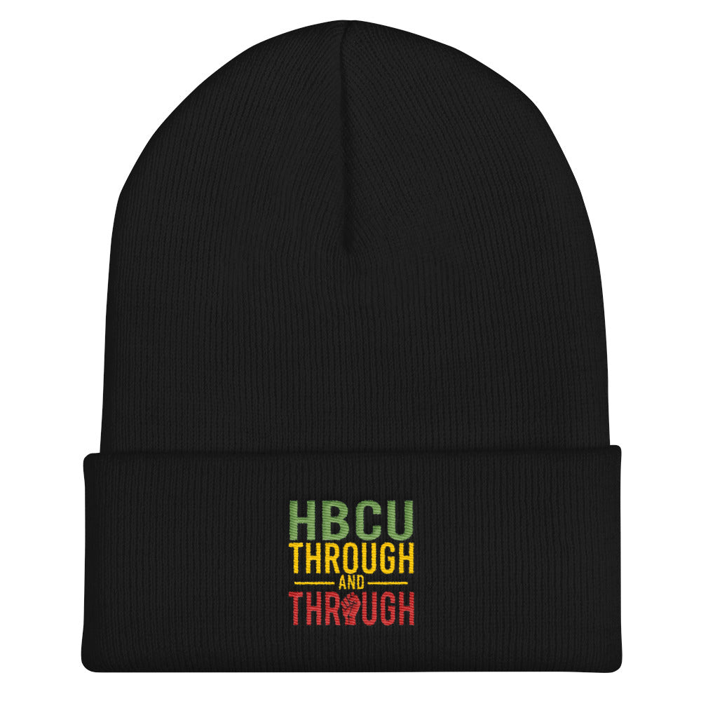 """HBCU Through And Through"" Cuffed Beanie"