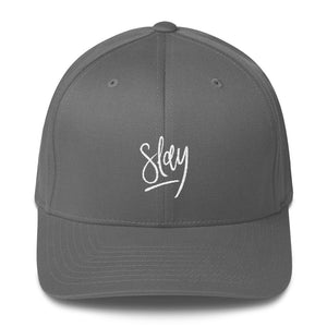 """Slay"" Structured Twill Cap"