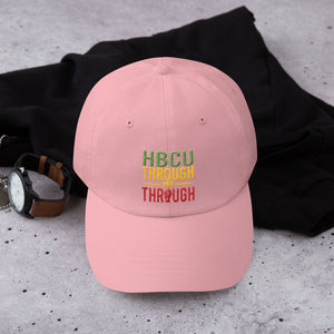 """HBCU Through And Through"" Dad Hat"