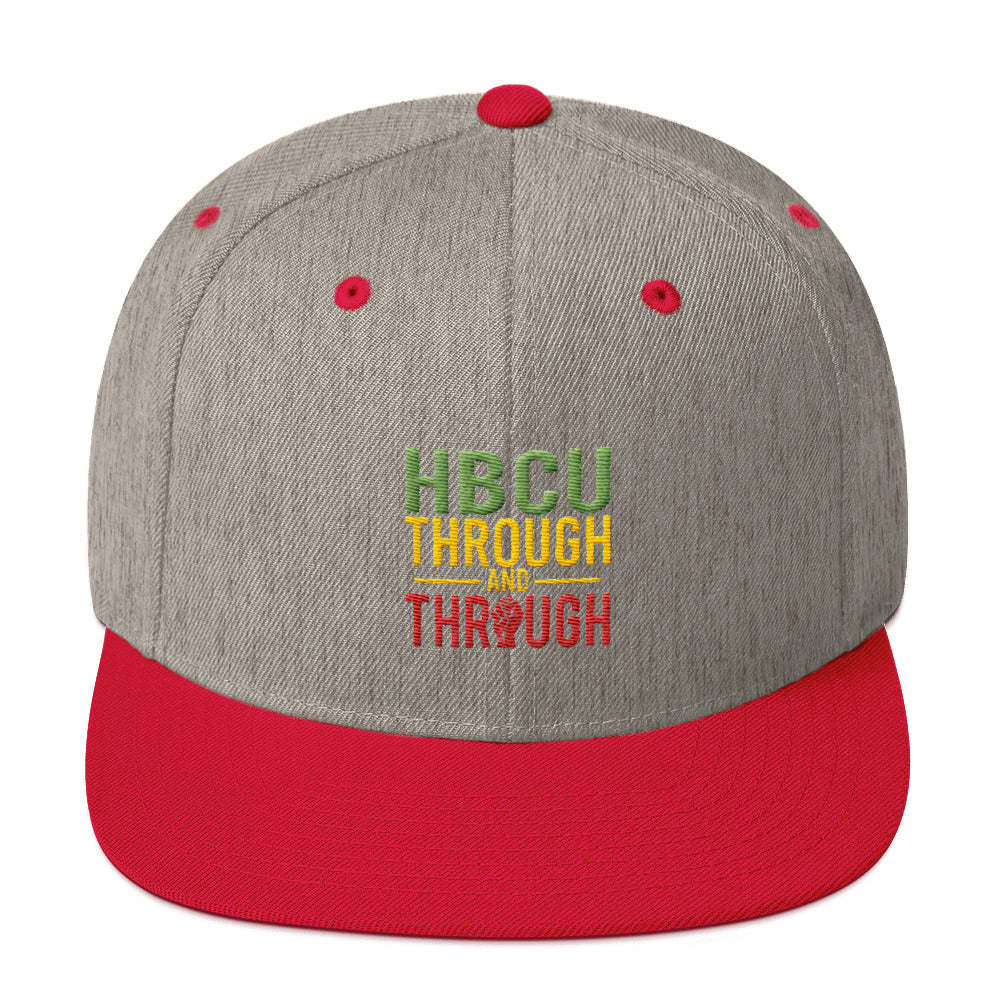 """HBCU Through And Through"" Snapback Hat"