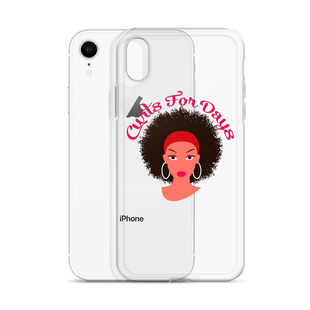 """Curls For Days"" iPhone Case"