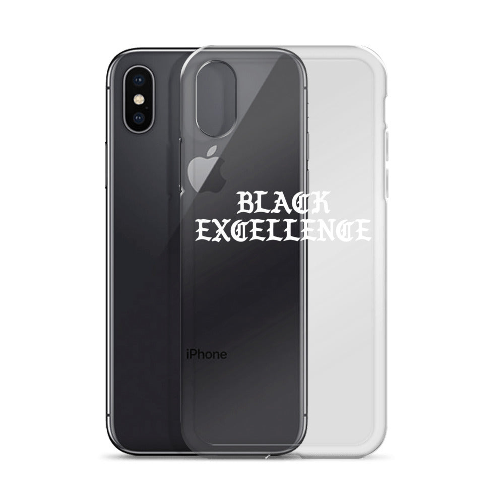 """Black Excellence"" iPhone Case"