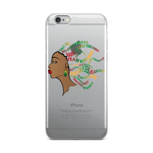 """Team Natural"" iPhone Case"