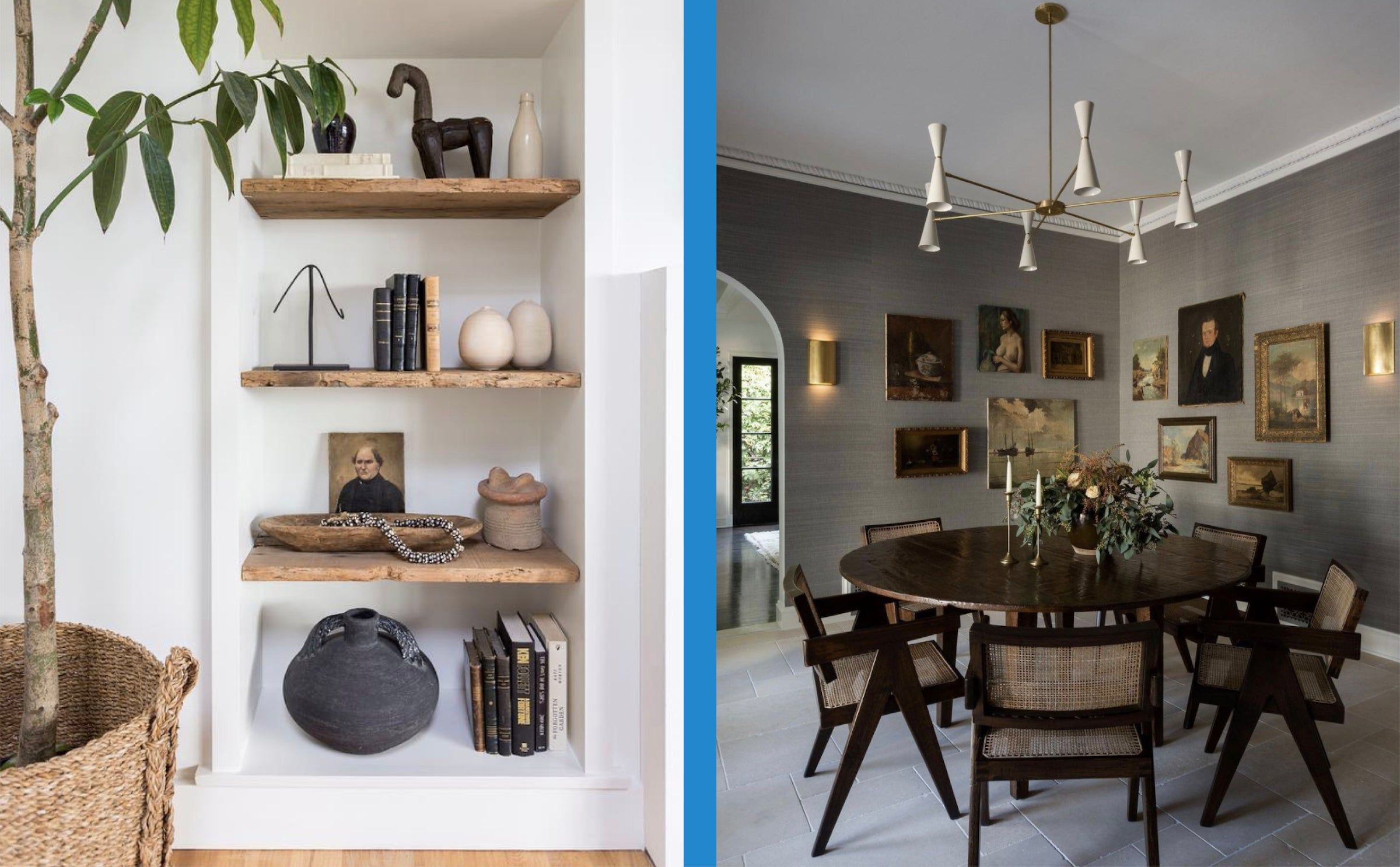 JDP Interiors masterfully mixes antiques into their designs.