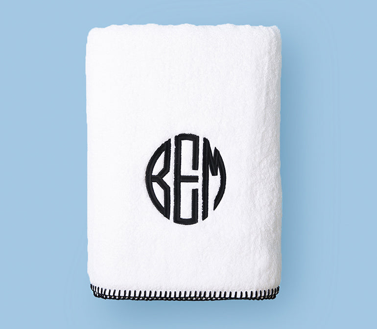 Stitched Edge Bath Towel