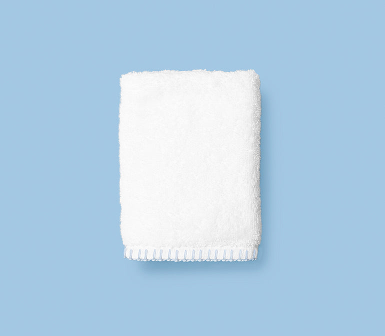 Stitched Edge Washcloths (pair)