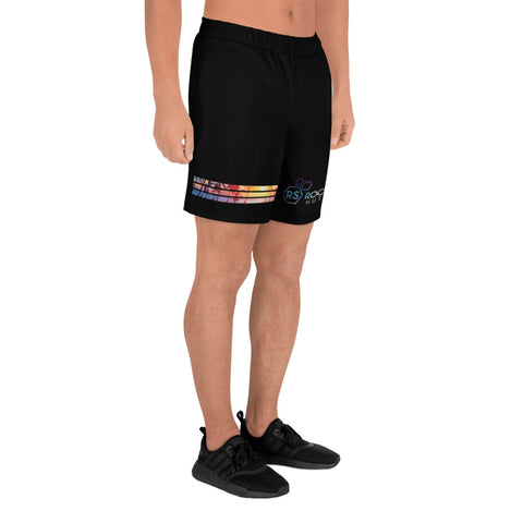 Men's Rock Solid Sea to Space Athletic Shorts