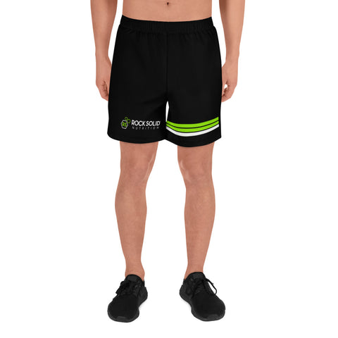 Men's Rock Solid Striped Athletic Shorts