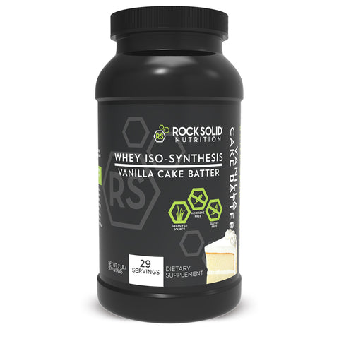 2 Pack WHEY PROTEIN ISO-SYNTHESIS - 2LB