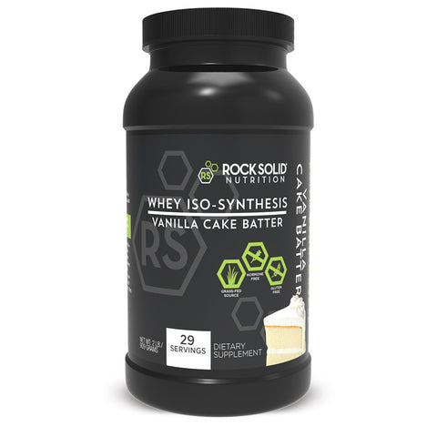 BOGO 50% OFF WHEY PROTEIN ISO-SYNTHESIS