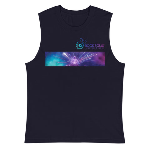 Mens Rock Solid Nebula Muscle Tank