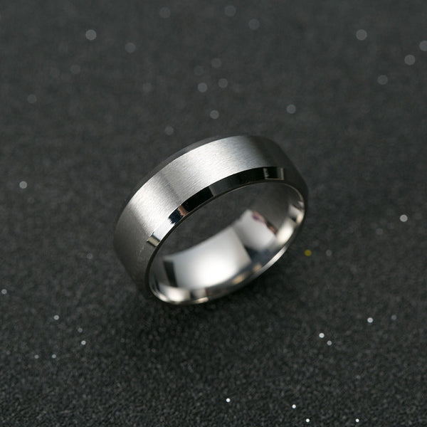 Ring Men Titanium Black