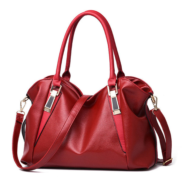 Herald Fashion Designer Women Handbag Female Pu Leather Bags