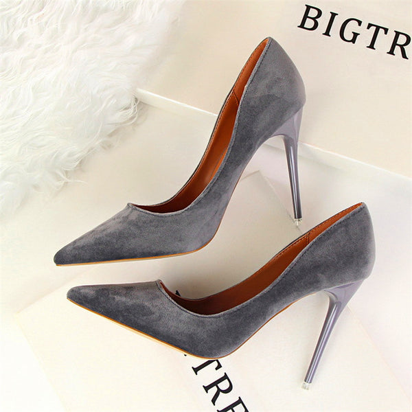 9 Colors Classics Women'S Shallow Office Shoes New Arrival