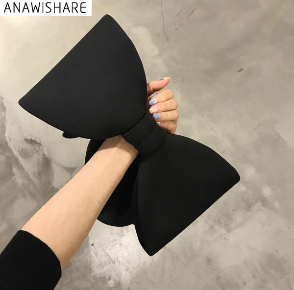 Anawishare Designer Women Handbags Bow Day Clutches Bag