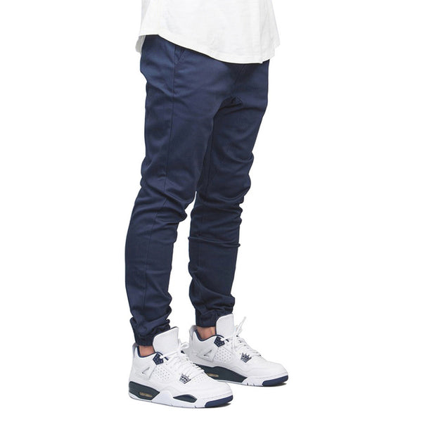 Men Jogger Pants Fashion Autumn Hip Hop Harem Stretch