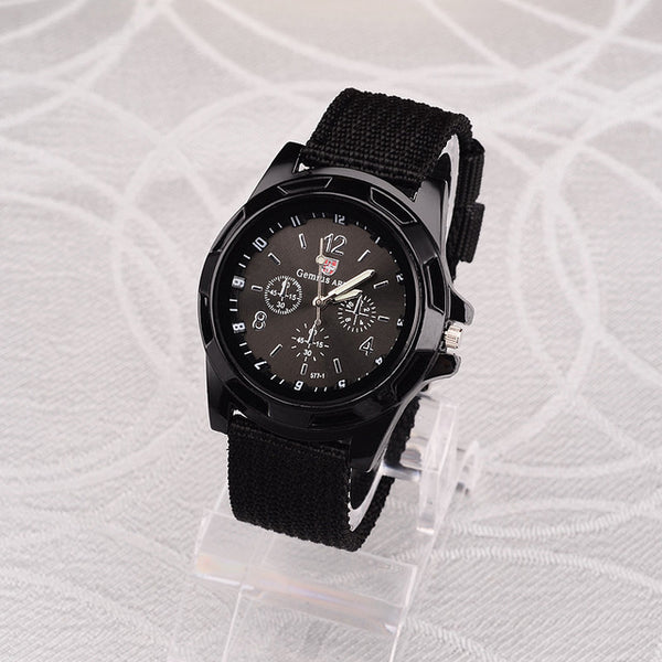 Men Nylon Band Military Watch Gemius Army Watch High