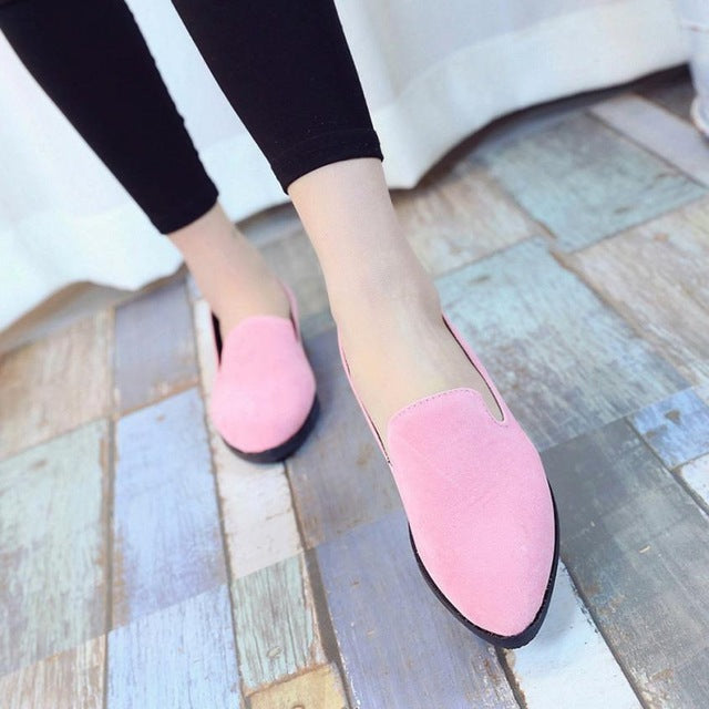 Women Ladies Slip On Flat Sandals Casual Shoes Solid Fashion