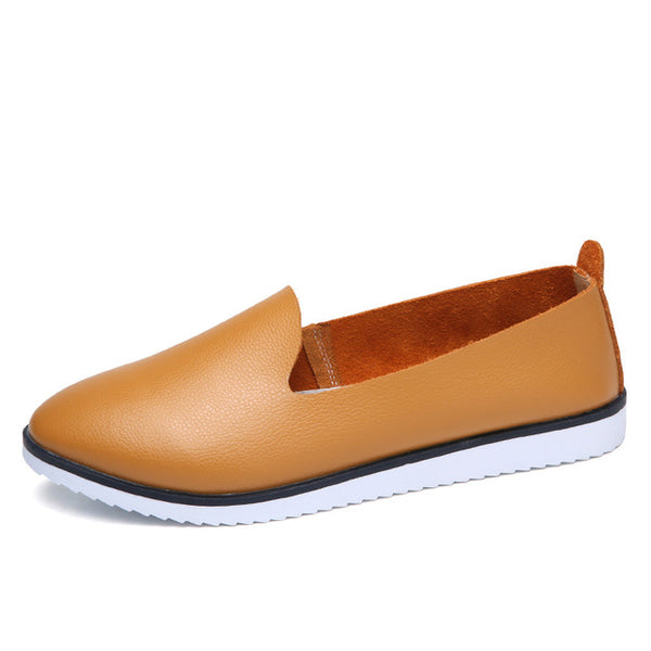Kilobili Women Ballet Flats Shoes Genuine Leather Slip On