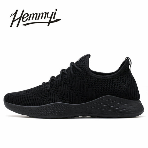 Breathable Men Sneakers Male Shoes Adult Red Black Gray High