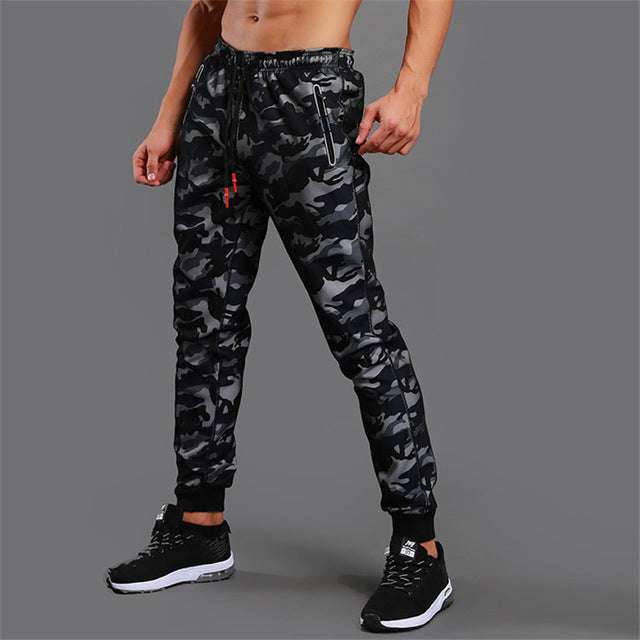 New High Quality Jogger Camouflage Gyms Pants Men