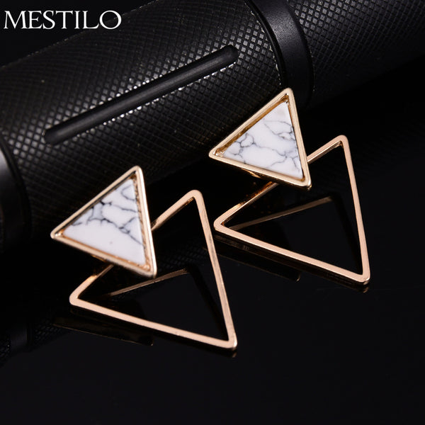 Mestilo Brand Punk Design Fashion Square Triangle Round
