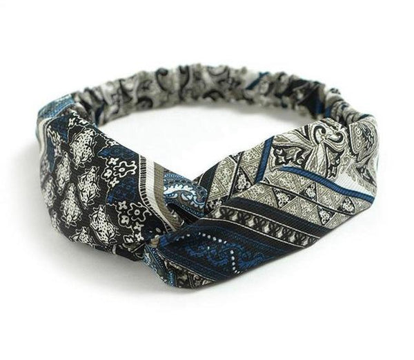 PFW Twisted Head Band or Headwrap (Used in Yoga/Dancing/Sports)