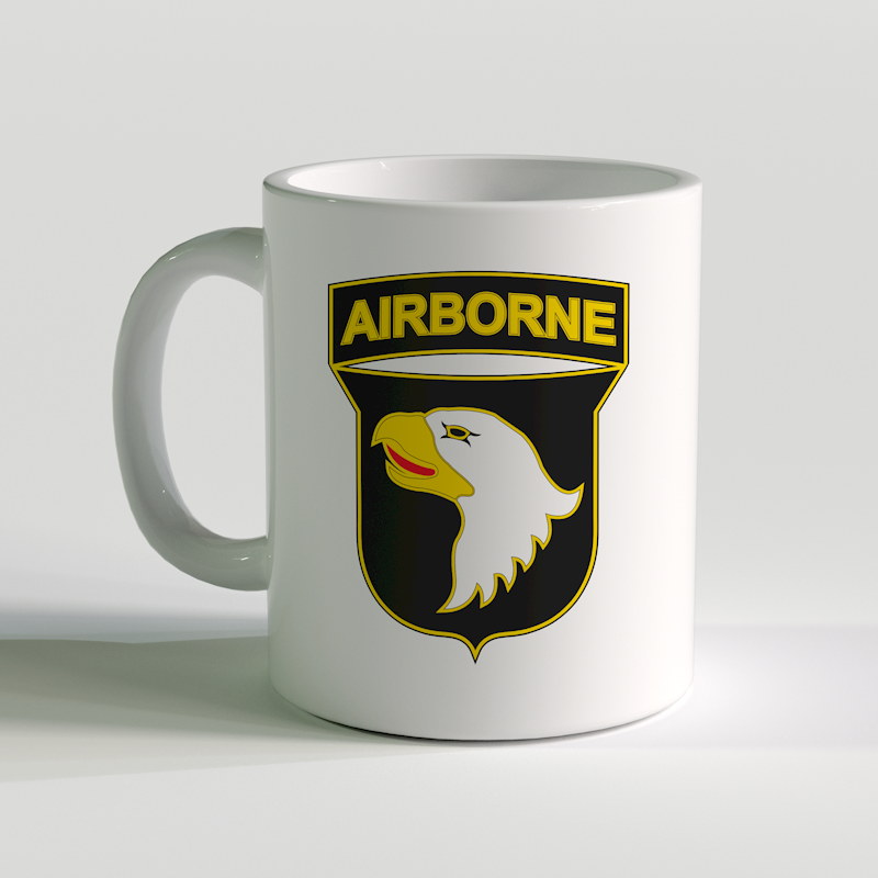 101st Airborne Division coffee mug, 101st Airborne Corps, US Army Coffee Mug