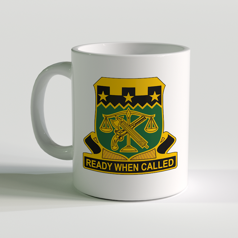 105th Military Police Corps Coffee Mug, 105th Military Police, US Army Military Police
