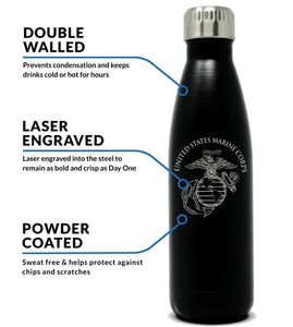 Insulated USMC Water Bottle