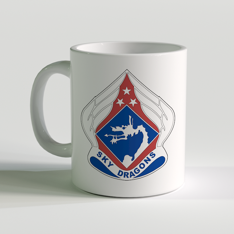 18th Airborne Corps Coffee Mug, US Army Skydragons, US Army Coffee Mug