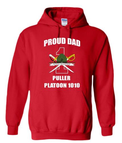 Marine Dad Graduation Hoodies