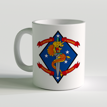 1st Battalion 4th Marines, USMC Coffee Mug, 1/4, whatever it takes