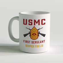 USMC Rank Coffee Mug