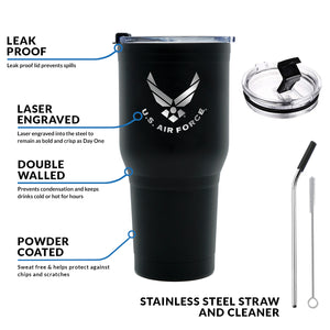30 oz Air Force Tumbler